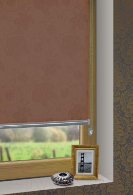 Рулонная штора Gardinia Гала 709 (57x160) - в интерьере