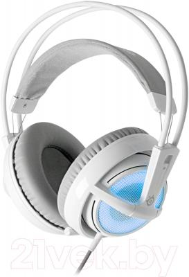 Наушники-гарнитура SteelSeries Siberia v2 Frost Edition (синий) - общий вид