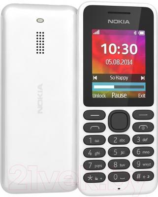 Мобильный телефон Nokia 130 Dual (белый)