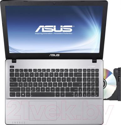 Ноутбук Asus F550LC-XO111D - вид сверху
