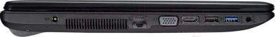 Ноутбук Asus F551CA-SX051D - вид сбоку