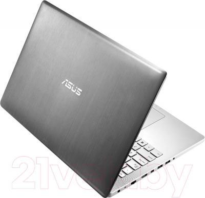 Ноутбук Asus N550JK-CN338H - вид сзади