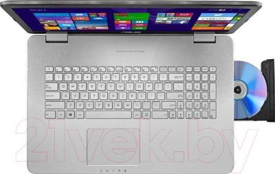 Ноутбук Asus N751JK-T4197H - вид сверху