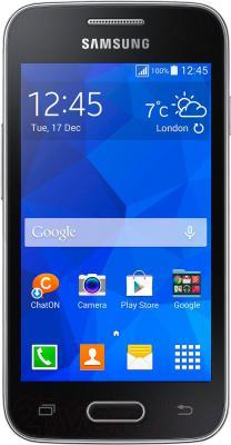 Смартфон Samsung Galaxy Ace 4 Lite / G313H (черный) - общий вид