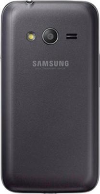 Смартфон Samsung Galaxy Ace 4 Lite / G313H (черный) - вид сзади