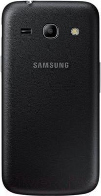 Смартфон Samsung Galaxy Star Advance Duos / G350E (черный) - вид сзади