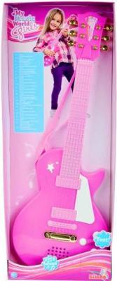 Музыкальная игрушка Simba Детская рок-гитара (10 6830693) - упаковка
