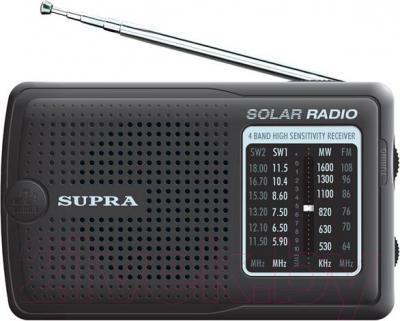 Радиоприемник Supra ST-111 (Black) - общий вид
