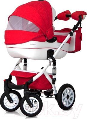 Детская универсальная коляска Riko Brano Ecco 2 в 1 (16) - окошко для мамы