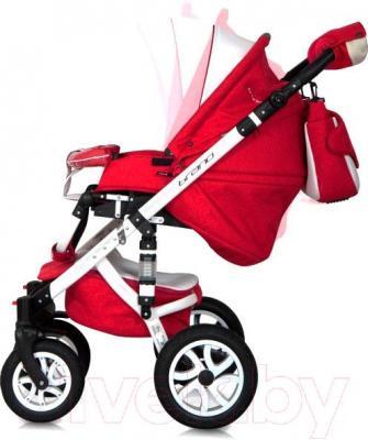 Детская универсальная коляска Riko Brano Ecco 2 в 1 (17) - регулировка наклона спинки