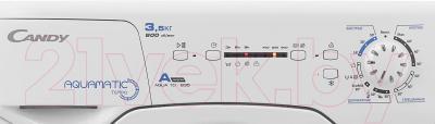Стиральная машина Candy AQUA 1D835 (31005677) - панель управления