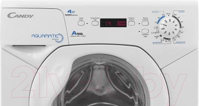 Стиральная машина Candy AQUA 2D1040 (31005680) - панель управления