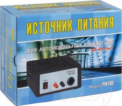 Зарядное устройство для аккумулятора Орион PW100 - упаковка