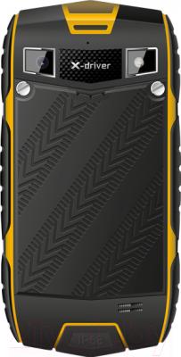 Смартфон TeXet X-driver / TM-4104R (+ Power Bank) - задняя панель