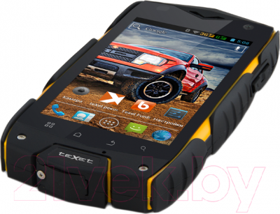 Смартфон TeXet X-driver / TM-4104R (+ Power Bank) - вид снизу