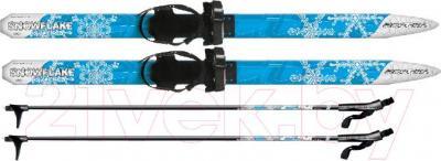 Комплект беговых лыж Arctix Snowflake 100 / 349-06101 (синий) - общий вид комплекта