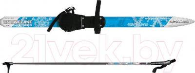 Комплект беговых лыж Arctix Snowflake 130 / 349-07131 (синий) - общий вид