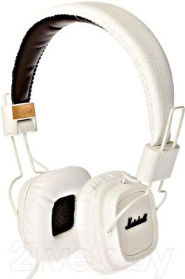 Наушники-гарнитура Marshall Major (White) - общий вид
