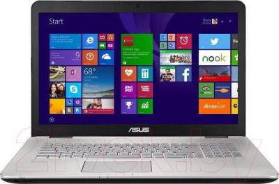 Ноутбук Asus N751JK-T4168H - общий вид