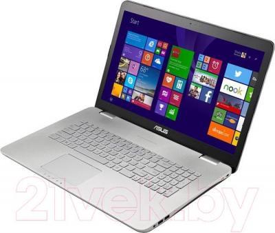 Ноутбук Asus N751JK-T4168H - вполоборота