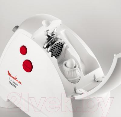 Мясорубка электрическая Moulinex ME630139 - хранение насадок