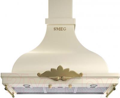 Вытяжка купольная Smeg KCM900PO - общий вид