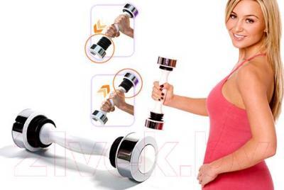 Гантель NoBrand Shake Weight SPR-HS320 - принцип тренировки