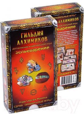 Настольная игра Правильные Игры Зельеварение. Гильдия алхимиков 05-01-03 (дополнение) - общий вид