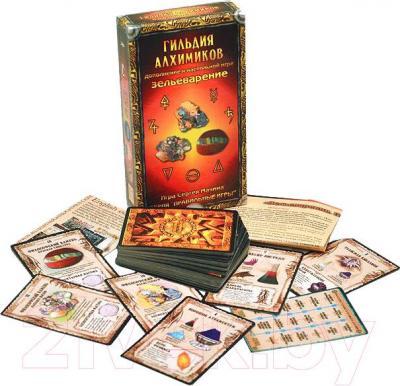 Настольная игра Правильные Игры Зельеварение. Гильдия алхимиков 05-01-03 (дополнение) - комплектация
