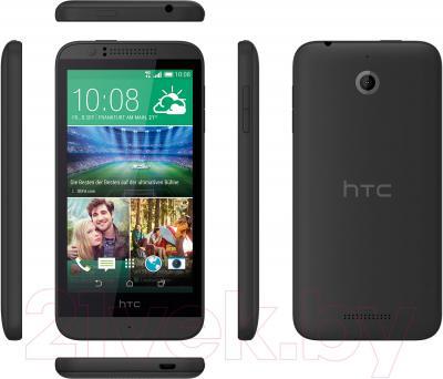 Смартфон HTC Desire 510 (серый) - обзор панелей