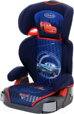 Автокресло Graco Junior Maxi Plus Disney (Racing Cars) - общий вид