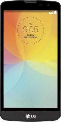 Смартфон LG L80+ L Bello / D331 (черный) - общий вид