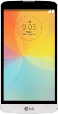 Смартфон LG L80+ L Bello / D331 (черно-белый) - общий вид