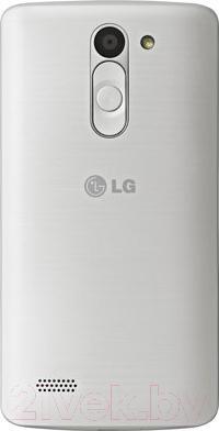 Смартфон LG L80+ L Bello / D331 (черно-белый) - вид сзади