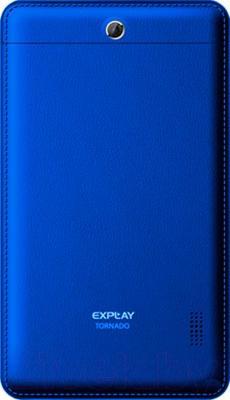 Планшет Explay Tornado 3G (синий) - вид сзади