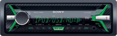 Автомагнитола Sony CDX-G3100UE - с зеленой подсветкой
