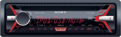 Автомагнитола Sony CDX-G3100UE - с красной подсветкой