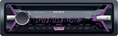 Автомагнитола Sony CDX-G3100UE - с фиолетовой подсветкой