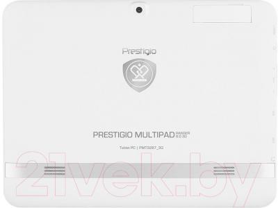 Планшет Prestigio MultiPad Ranger 8.0 8GB 3G (PMT3287_3G_C_WH) - вид сзади