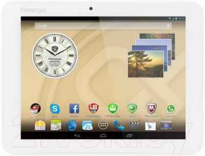 Планшет Prestigio MultiPad Ranger 8.0 8GB 3G (PMT3287_3G_C_WH) - общий вид