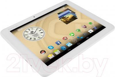 Планшет Prestigio MultiPad Ranger 8.0 8GB 3G (PMT3287_3G_C_WH) - вид лежа