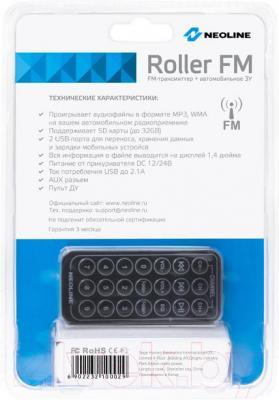 FM-модулятор NeoLine Roller FM - вид сзади