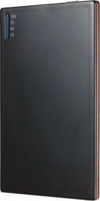 Портативное зарядное устройство Hiper SLIM2000 (черный) - общий вид