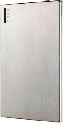 Портативное зарядное устройство HIPER SLIM2000 (серебристый) - общий вид