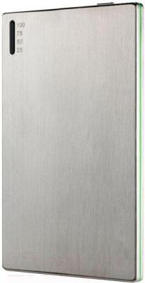 Портативное зарядное устройство Hiper SLIM3500 (серебристый) - общий вид
