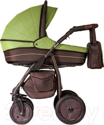 Детская универсальная коляска Anex Elana (лайм) - общий вид