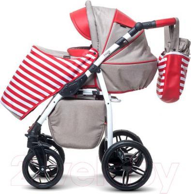 Детская универсальная коляска Anex Nixie (красный) - прогулочный блок