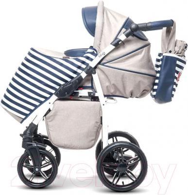 Детская универсальная коляска Anex Nixie (синий) - прогулочный блок