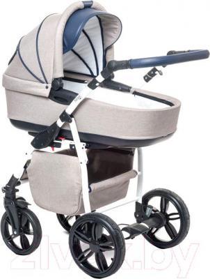 Детская универсальная коляска Anex Nixie (синий) - общий вид