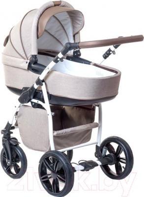 Детская универсальная коляска Anex Nixie (бежевый) - общий вид